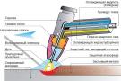 При сварке неплавящимся электродом его расход вызван испарением металла, либо частичным выкрашиванием.