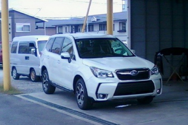 Шпионские фото Subaru Forester X…